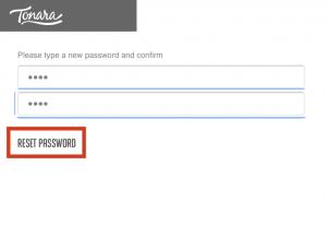 tonara forgot password - mobile4