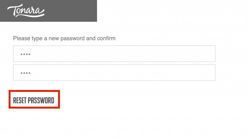 tonara forgot password4