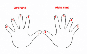 Piano Fingering Map