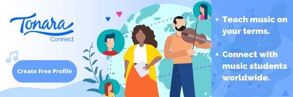 teach music online with Tonara Connect