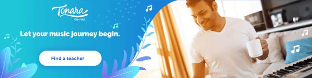let your music journey begin banner