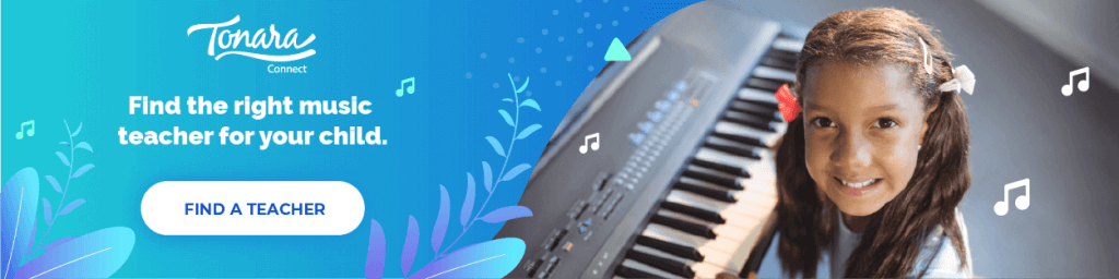 young girl at piano showing best online piano lesson opportunity