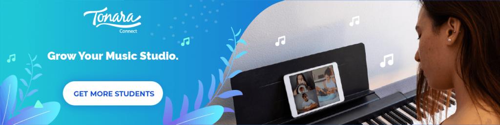 Grow your Music Studio banner