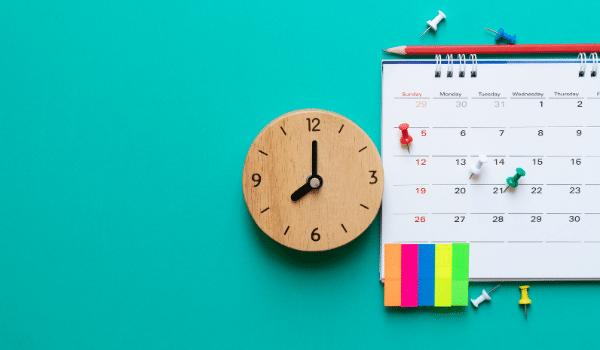 calendar to help practice music