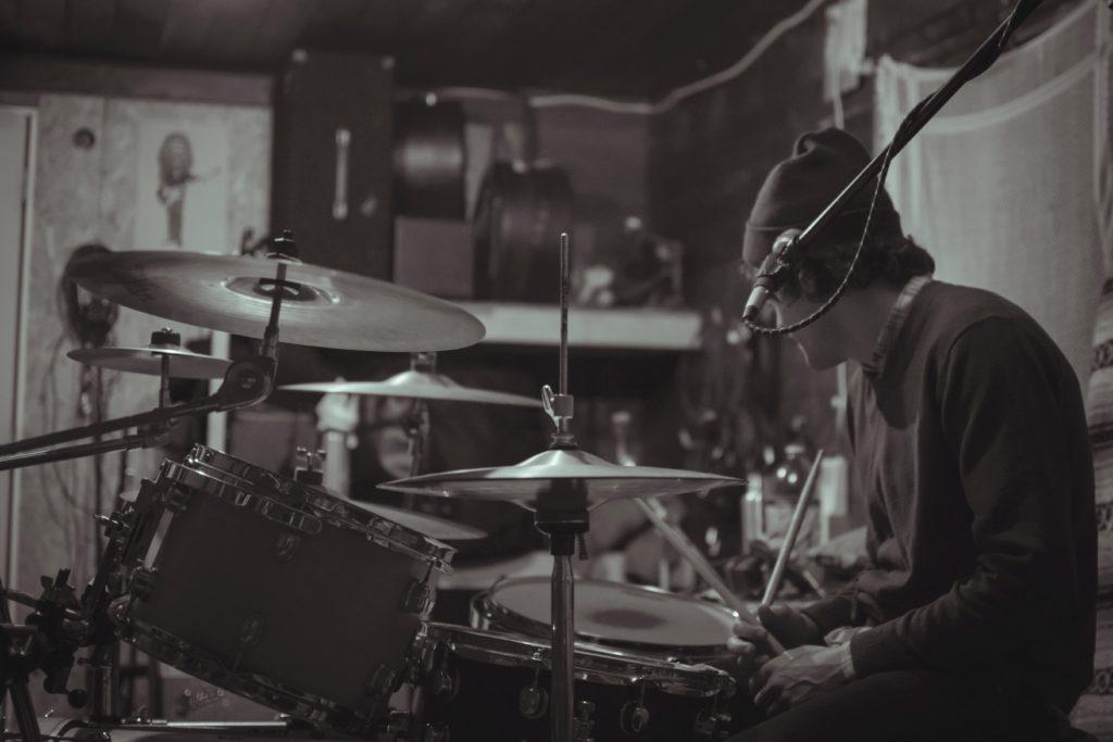 posture for drumming habit