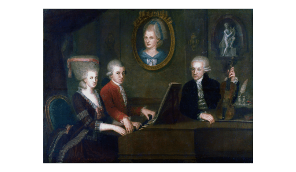 Mozart at the piano