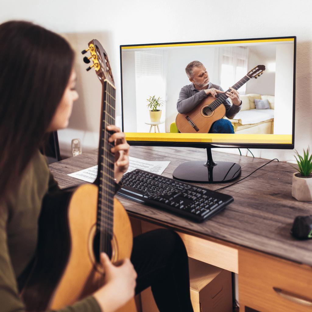 Online Guitar Teacher